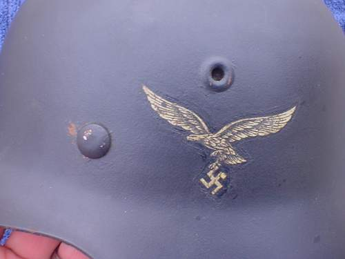 opinions on the M42 luftwaffe helmet