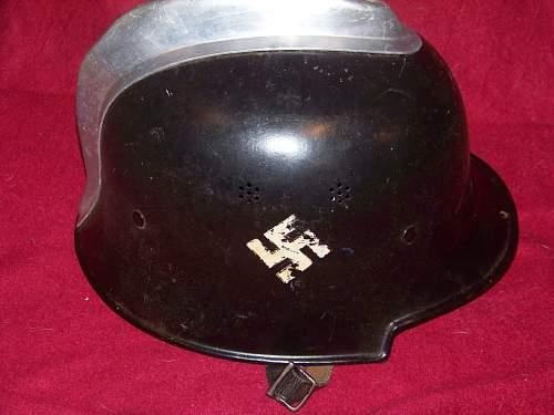 My new helmet M34 feuerschutzpolizei helmet