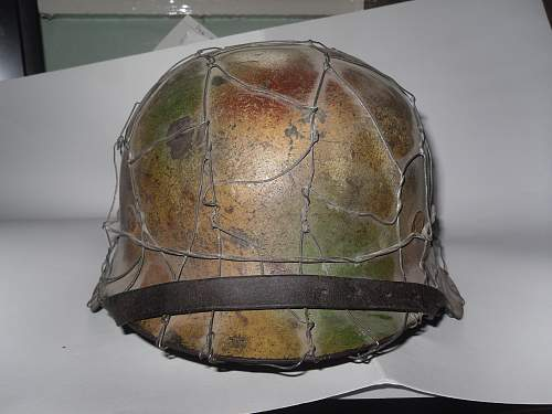 German helmet given to me by a friend