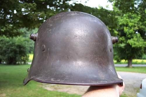 Need help identifying this German helmet