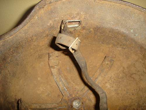 Camo Steel Helmet for review