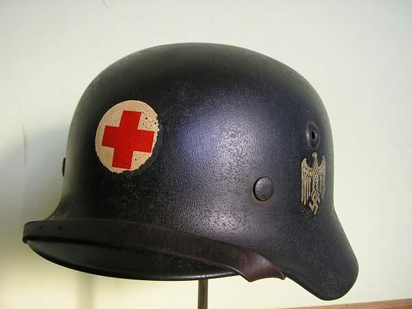 Fake German Steel helmets