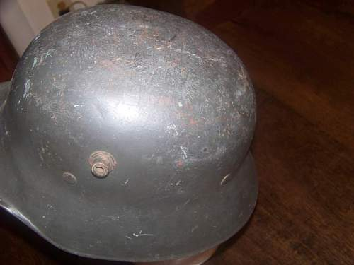 My new helmet ww2  parade or factory