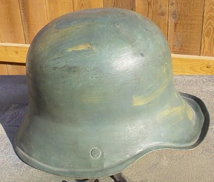 ww2 German kid's helmet