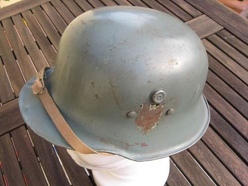 ww2 German kid's helmet