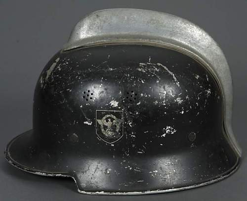 Look ok 34 Double Decal Civic Police Helmet