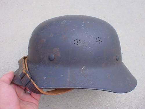 M44  helmet with Austrian decal real or fake