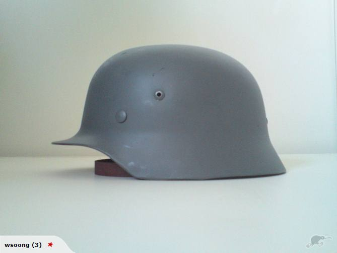 WW2 GERMAN AIR VENTS FOR M-35 GERMAN HELMET MODEL
