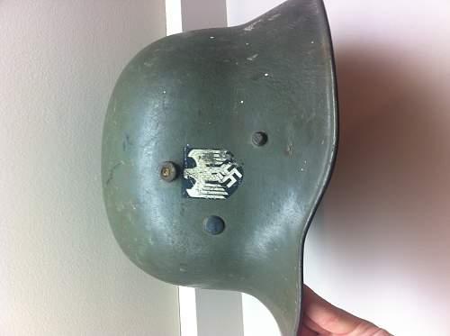 Transitional DD helmet for sale in dealers corner.