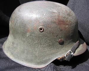 M42 SD camo helmet