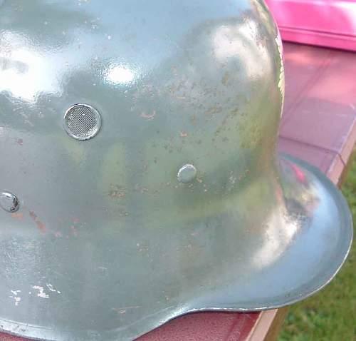 Reichsluftschutzbund - M18 Stahlhelm - First One Posted
