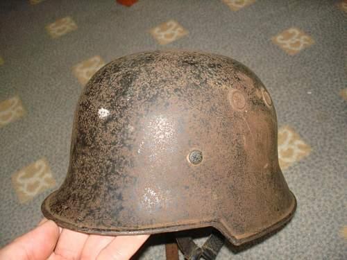 Hamburg helmet find is it fake?