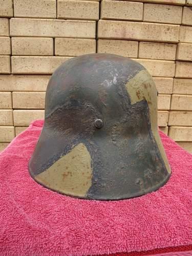 Vintage Austrian helmet  comments please