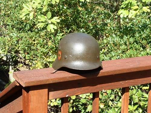 Opinions on M40 police helmet appreciated