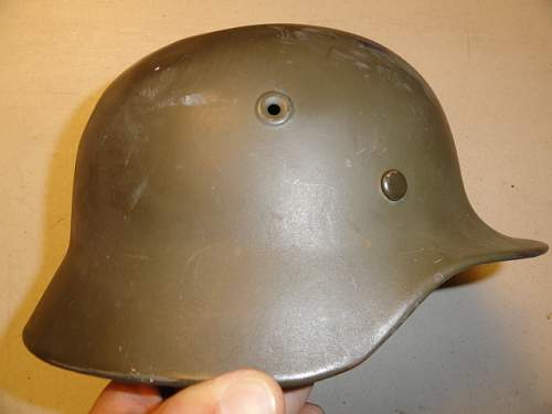 Is this a WW2 German Parade helmet?