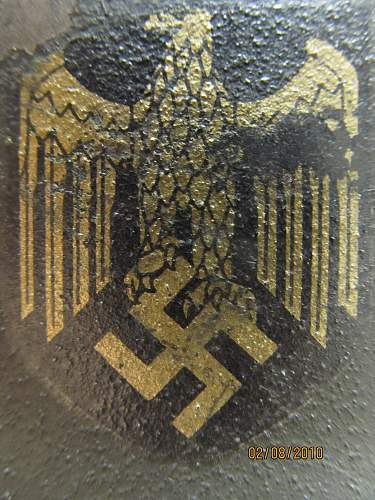 Kriegsmarine Helmet ?