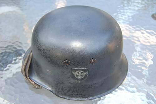 Civil Fire Police Helmet