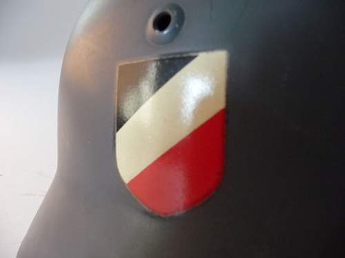 Quite possibly the mintiest helmet I have ever seen