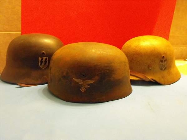 Three Helmets, Three Fakes?