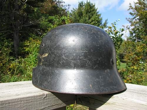 M35 DD Luft - Black -  ET 64 Lot # 4192 - Interesting Personalization