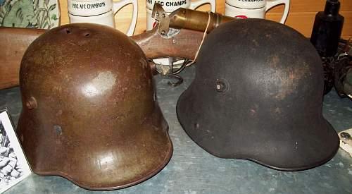 Black Painted M16 Stahlhelm?