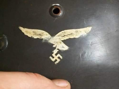 Luftwaffe helmet.....Is it OK ?