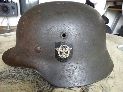 M40 DD Polizei helmet