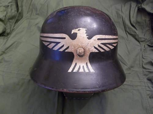 Unknown German helmet