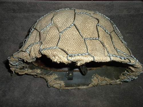 M-42 with wire and burlap cover