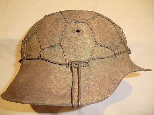 My latest German helmet find in Jersey, Channel Islands