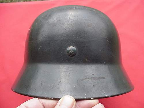 M35 ET66 DD Luftwaffe Mint condition. Opinons needed quick!