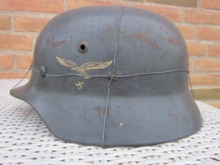 Luftwaffe Double decal helmet