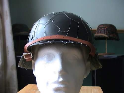 My only real german helmet