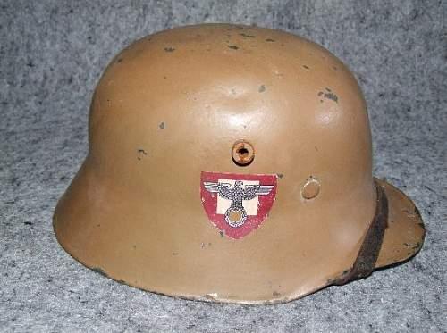 Never seen before! SA-helmet, M18?