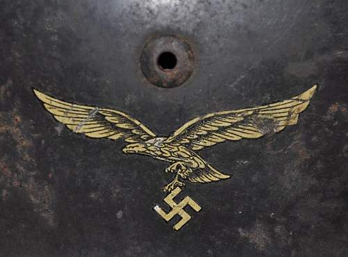German Luftwaffe helmet