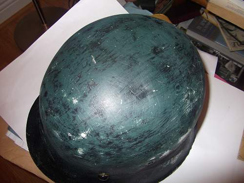 unusual colour helmet???