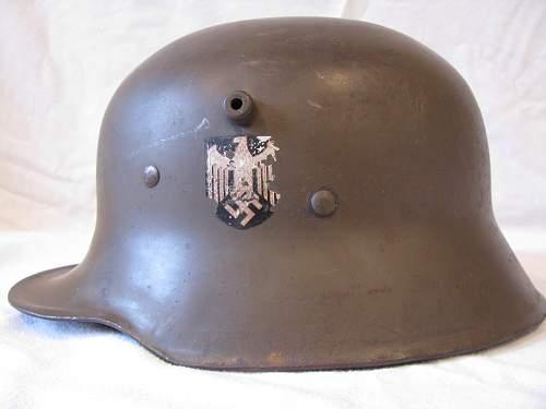 Himmler Style SA Helmet