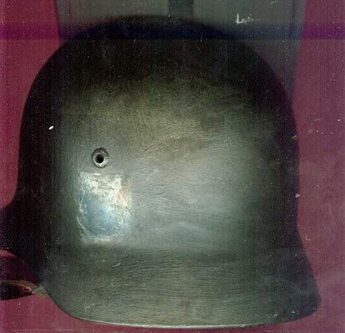 Can you tell me who made my German helmet?