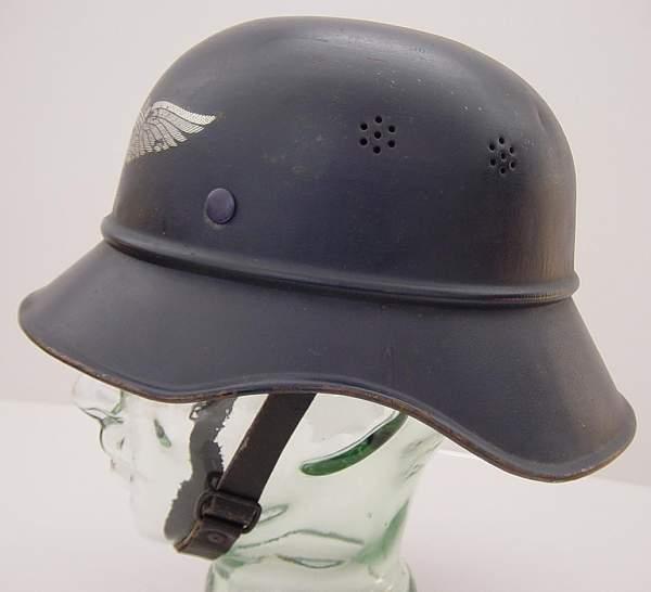 Luftschutz helmet? need help!