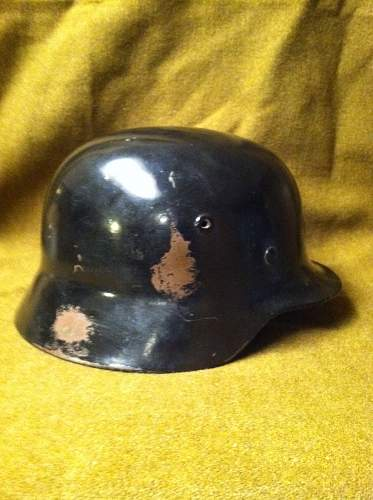 Question- M1935 Helmet...but liner & chin strap seem rather different