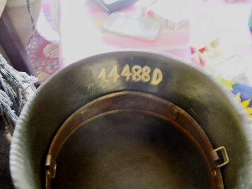 number inside an helmet, do u know what it is?