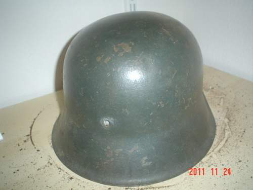 Fake German Steel helmets