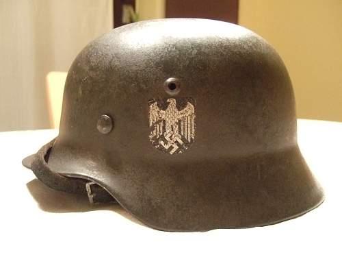 Stahlhelm Wehrmacht M35 (SE)
