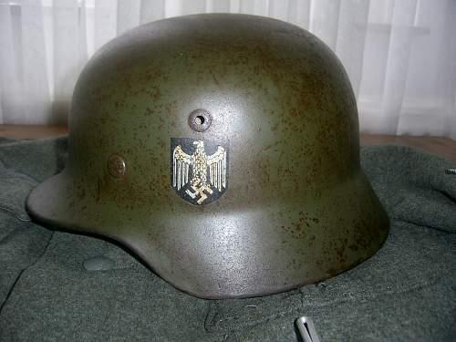m16 model luftwaffe helmet