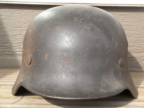 WWII German Kriegsmarine Helmet?