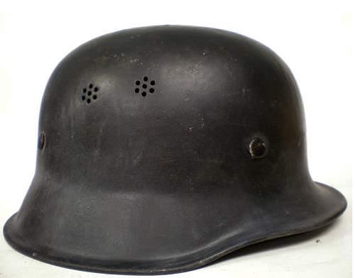 M34 Fire Police Helmet - WWII or post-war