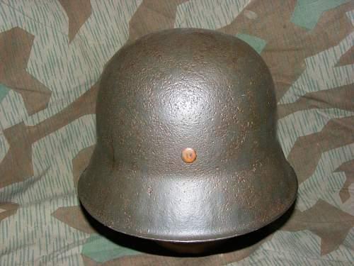 My first helmet! A salty M42 ND