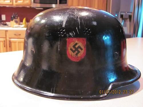 Help Determining a fake German Helmet