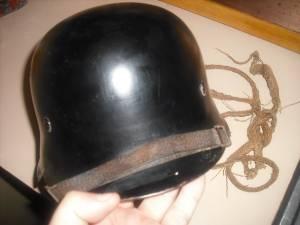 Civic police helmet...suspicious decals?