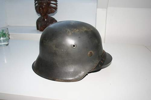 M42 helmet real or fake? (No decals)